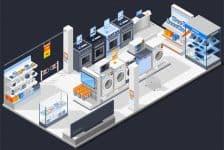 Műszaki - elektronikai üzletek áruvédelme